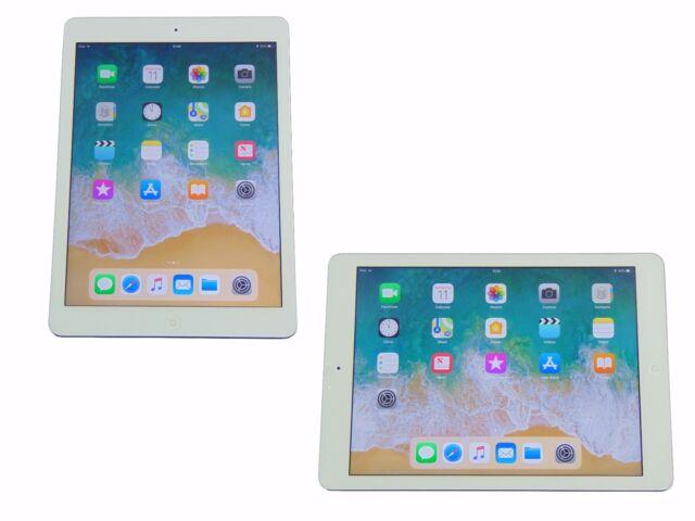 Apple iPad Air 32GB Refurbished WiFi Silver 1st Generation Warranty