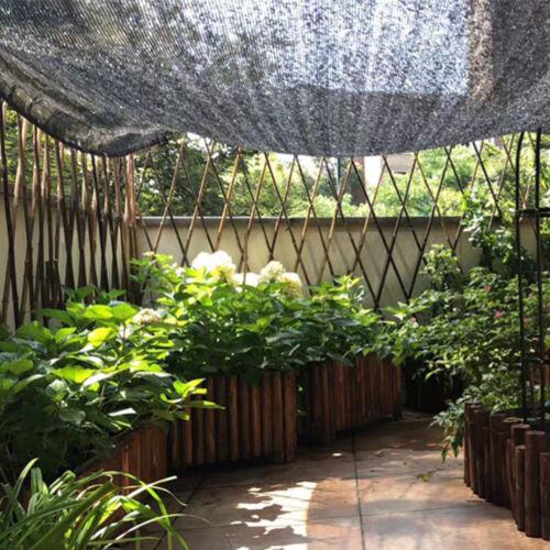 Tennisblende Sichtschutz Zaunblende HDPE Schattiergewebe Windschutz Balkon Netz#