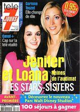Mag 2002: LOANA_JENNIFER_CORINNE TOUZET_ANDY GARCIA_LAAM_STEPHANE COLLARO