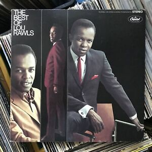 LOU RAWLS THE BEST OF VINYL LP 1974 CAPITOL RECORDS LOVE IS A HURTIN' THING, EX