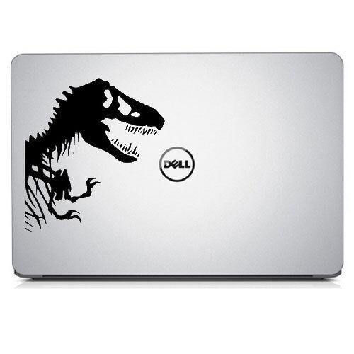 Dinosauro T Rex Decalcomania Sticker per MacBook Air//Pro Laptop Finestrino Auto Muro bimper