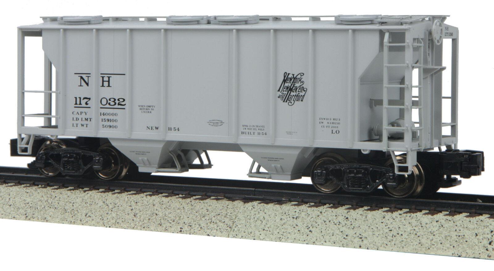 MTH S Gauge PS-2 Hopper Car New Haven 35-75053