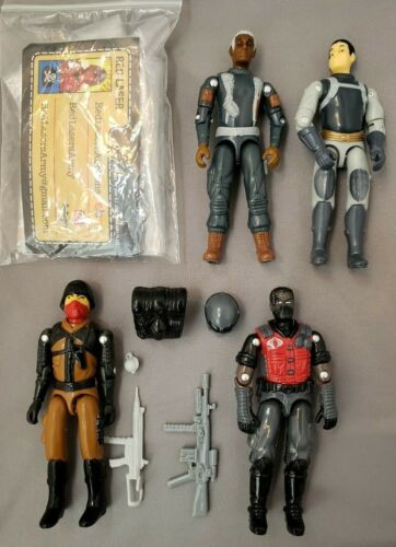 E Blowout-Stock Final redlasersarmy Set custom 4 Figurines Accessoires Kit