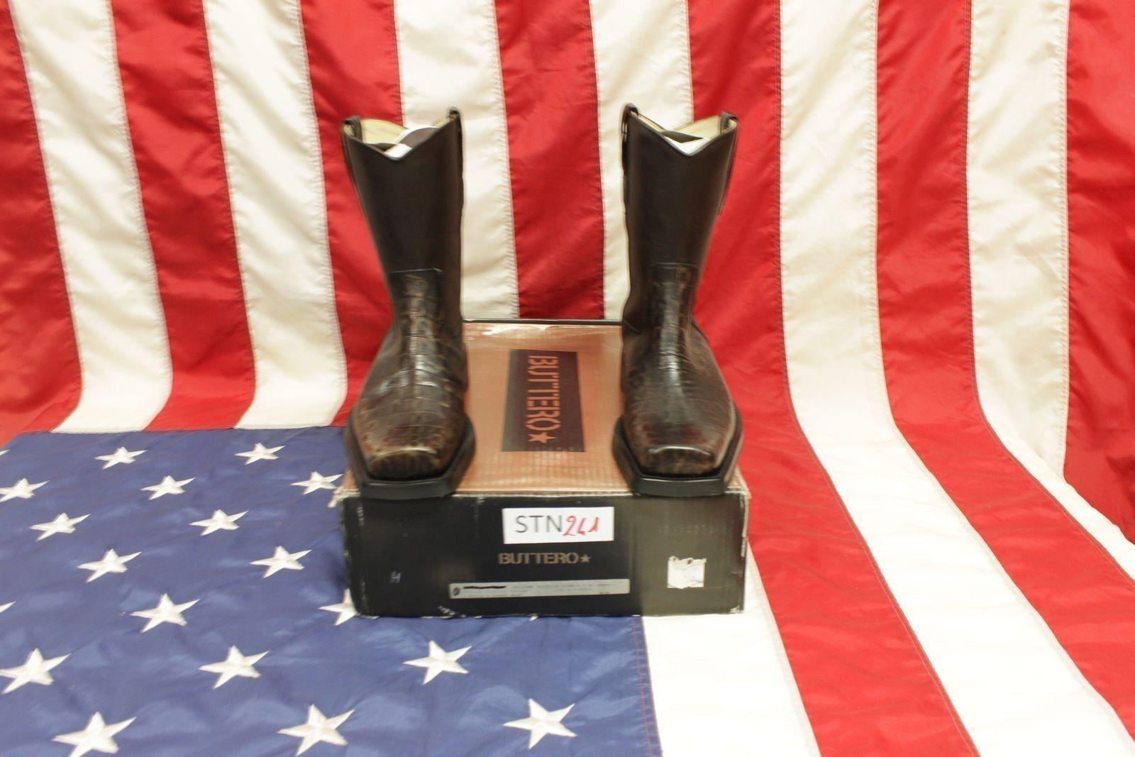 grande sconto Stivali Buttero  stivali N.40  (Cod.STN241) camperos cowboy cowboy cowboy western uomo Nuovi  garantito