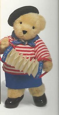 """/""""MUFFY PARIS BISTROT/""""OUTFIT ONLY FRENCH CHANTEUSE OUTFIT WITH CONCERTINA//NO BEAR"""