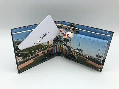 PAUL SMITH MINI LAS VEGAS Coin & Billfold Leather Wallet 5057846379994 | eBay