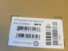 NEW GENUINE HP EXTENDED LIFE SECONDARY BATTERY 8C AJ359AA  (Retail Box)