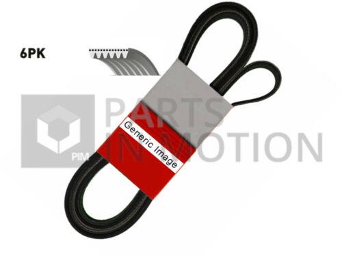 IVECO DAILY Mk3 2.8D 6 Rib Multi V Drive Belt 99 to 06 Contitech 500368902 New
