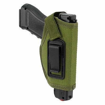 Concealed Belt Holster Ambidextrous IWB Holster for Compact Subcompact Pistols