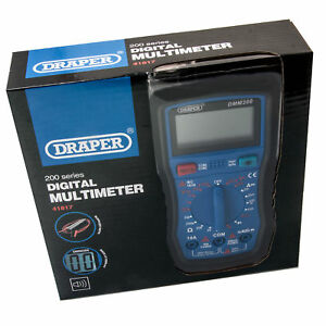 Draper-41817-Digital-Multimeter-Electrical-Electronics-Tester-Testing-Tool-AC-DC