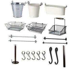 Dettagli su IKEA FINTORP Casa Cucina & Bagno Accessori gamma in un\'unica  inserzione- mostra il titolo originale