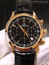 Jaeger LeCoultre Master Chronograph 18k Rose Gold  ref. 145.2.31