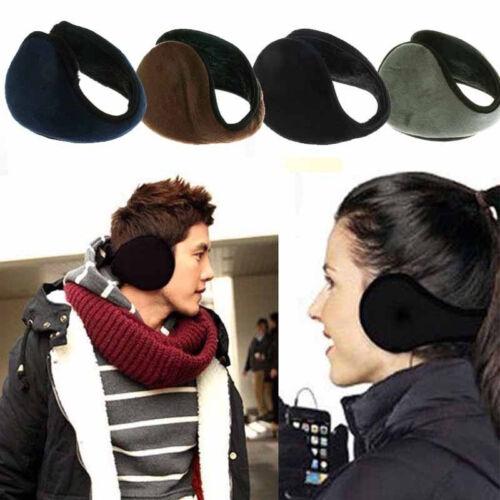 Ear Muffs Winter Ear warmers Fleece Earwarmer Men Womens Behind the Head Band FH