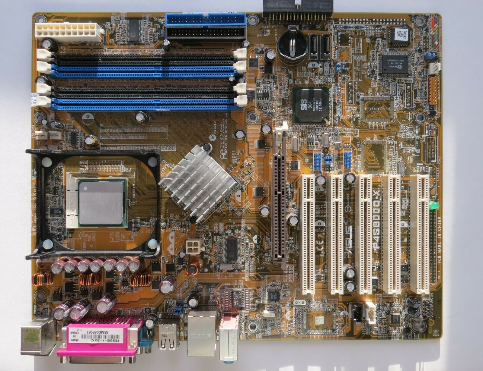 ASUS P4S800D-X MOTHERBOARD WINDOWS 7 DRIVER