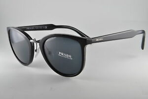 1377f672d Image is loading Prada-Sunglasses-SPR-22S-1AB1A1-Black-Size-52-