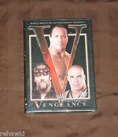 Wwe - Vengeance 2002 (dvd, 2002) Brand Wwf Super Rare