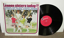LENNON SISTERS Today!!, original Mercury vinyl LP, 1968, VG+