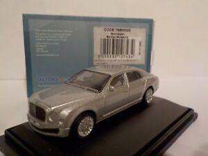 Bentley-Mulsanne-plata-modelo-coches-Oxford-Diecast-1-76