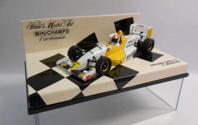 MINICHAMPS F1 1/43 Scale - 430 943001 DALLARA-OPEL S.MAASSEN 1994