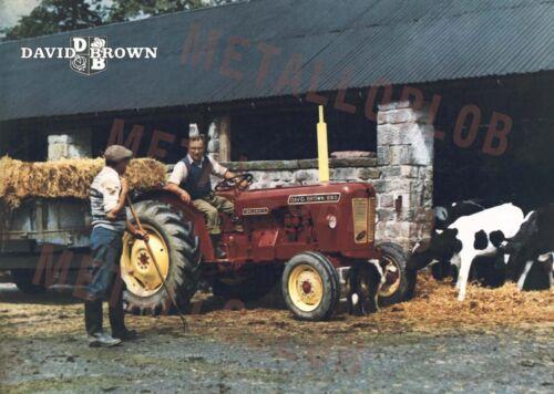 Cartel de David Brown 880 Tractor (A3) - (3 para 2 Oferta)