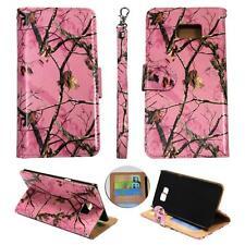 For Samsung Galaxy S6 Edg Plus Ck Wallet Camo Pink Mozy Cover Case Un