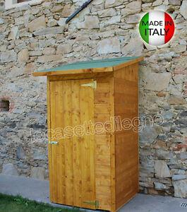 Box casetta in di legno 124x124 porta sing 20mm casette for Cerco casetta in legno da giardino usata