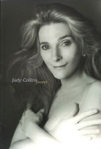 JUDY-COLLINS-1997-FOREVER-TOUR-CONCERT-PROGRAM-BOOK-BOOKLET-NMT-2-MINT