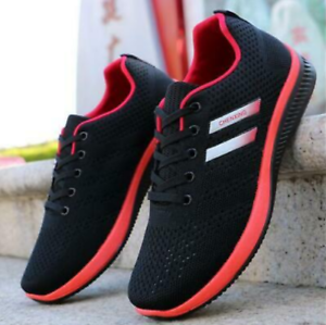 2019 New Men/'s Athletic Sneakers Outdoor Sports Running Casual Breathable Shoes