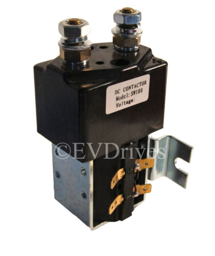 Albright Style SW180 Solenoid Contactor 200 amp w// Mounting Bracket 12V