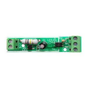 Módulo de aislamiento Optoacoplador 220V AC Voltaje Detectar Board adaptable para PLC 1-Bit