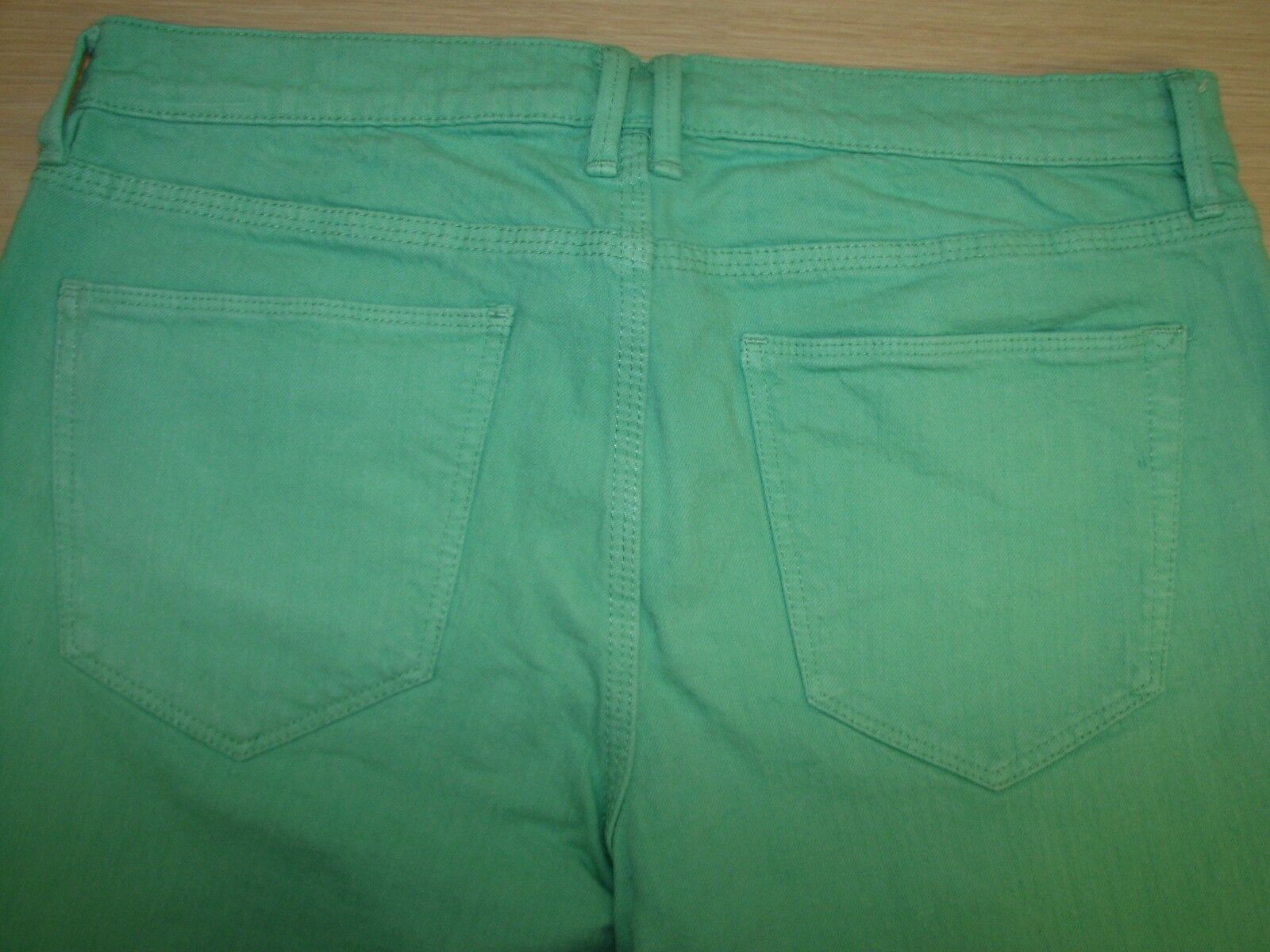 Madewell Skinny Skinny Ankle Size 29 Women's Denim Green Jeans