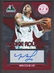 2012-13-Totally-Certified-Rookie-Roll-Call-Auto-Red-65-Malcolm-Lee-279