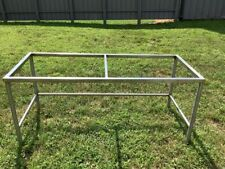 Six Foot Stainless Steel Table Frame