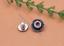 10X-Silver-Tone-Flower-Leather-Craft-Bag-Belt-Purse-Decor-Turquoise-Conchos-Set miniature 11