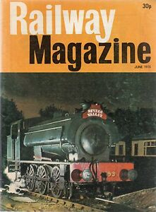 The Railway Magazine  June 1975 published by IPC Transport Press - <span itemprop=availableAtOrFrom>Machynlleth, Powys, United Kingdom</span> - I do try to list all items as accurately as possible and am dedicated to superior customer service. If for any reason you are not 100% satisfied with your purchase, please let  - Machynlleth, Powys, United Kingdom
