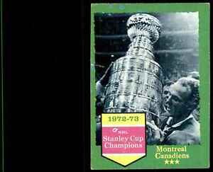 1973-74 Topps Canadiens Champs #198