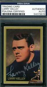 Larry-Kelley-Heisman-Collection-Psa-Dna-Certed-Autograph-Authentic-Hand-Signed