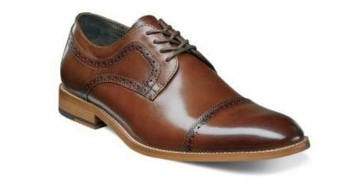 Stacy Adams Dickinson Cap Toe Oxford Cognac 25066 -221