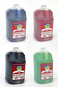 Snow-Cone-Syrup-4-one-gallon-jugs-for-snow-cone-Machine-You-choose-the-flavors