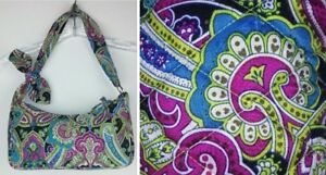 1346ea562e1f Vera Bradley Purse Shoulder Bag Daphne Bella Paisley Limited Edition ...