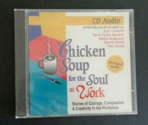 Chicken-Soup-for-the-Soul-at-Work-CD-Audiobook-1996-New-FREE-SHIPPING