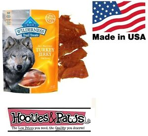 Natural Blue Buffalo Wilderness Healthy Dog Turkey Jerky