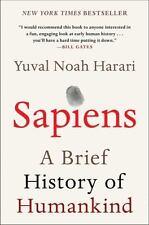 Sapiens : A Brief History of Humankind by Yuval Noah Harari (2018, Paperback)