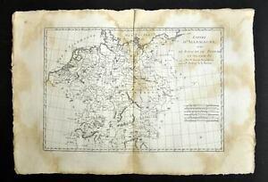 L'ALLEMAGNE- LA BOHEME... carte geographique ancienne- old antic map BONNE 1787 yX4ImH0z-08070218-252588155