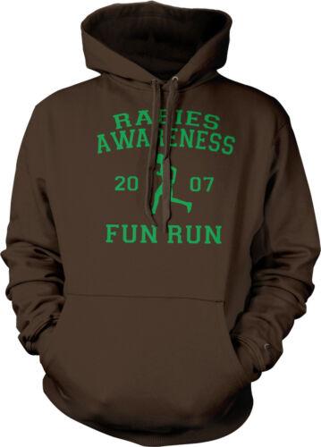 Rabies Awareness Fun Run Michael Scott The Office 5K Hoodie Pullover Sweatshirt