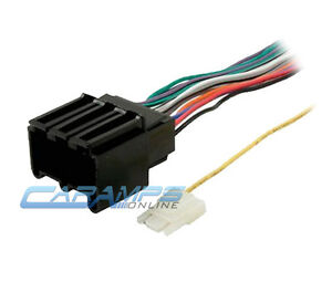 s l300 car stereo cd player wiring harness wire adapter plug for harness wire for car stereo at metegol.co