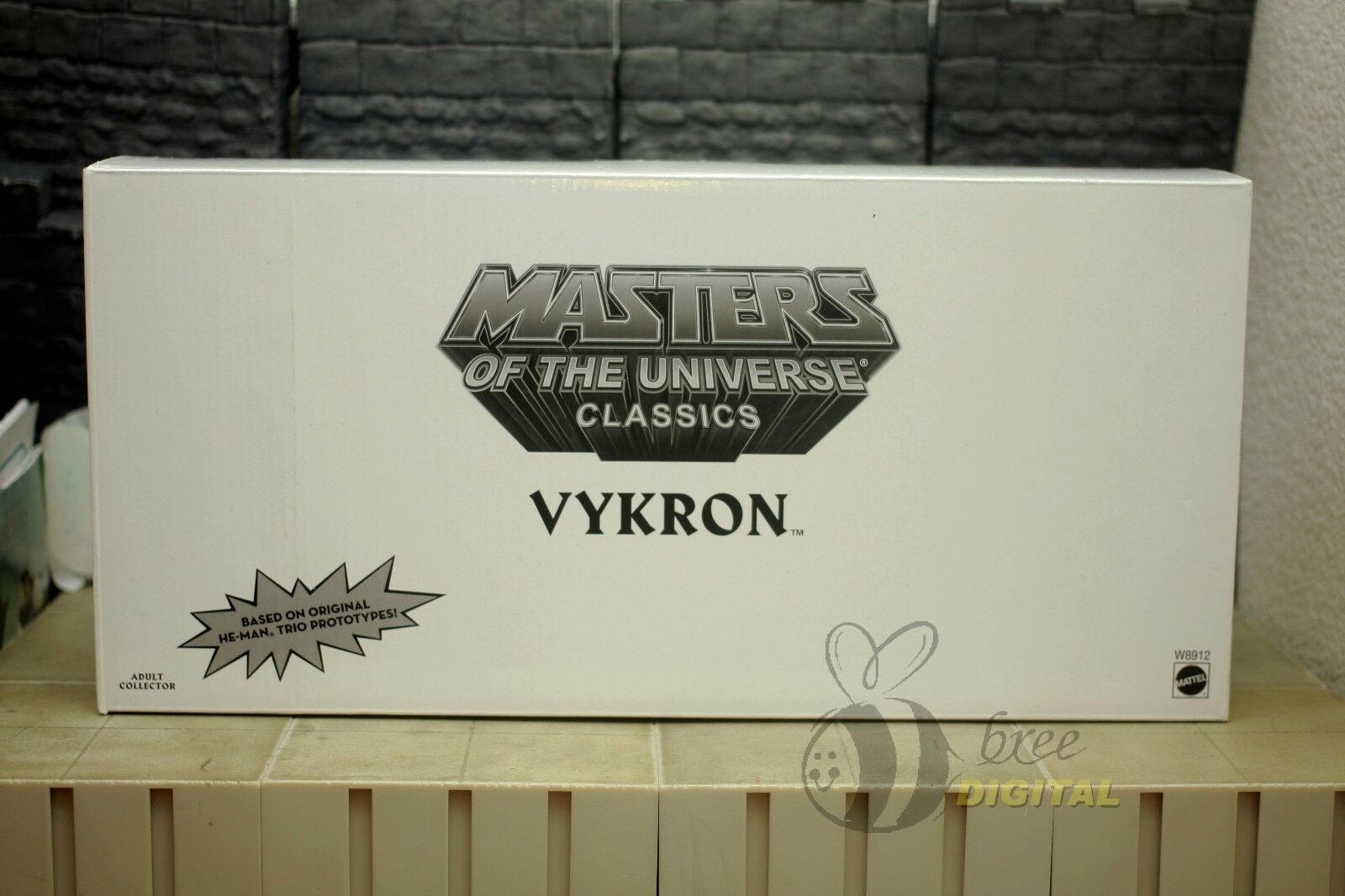 SDCC Masters of the Universe Vykron