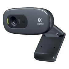 Logitech C270 Webcam HD 720p 1280x720 Video Calling 3MP Clip On USB 2.0 Calls
