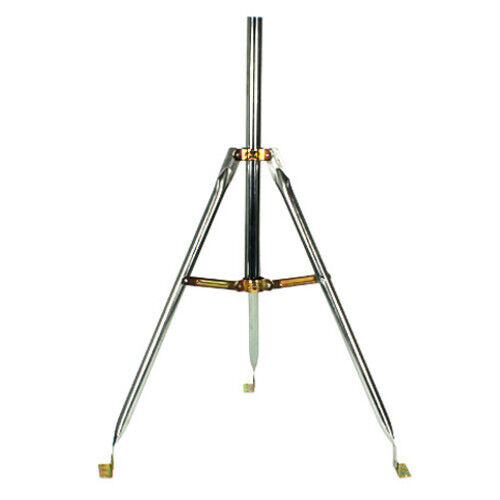 "4 Pack 3Ft Heavy Duty Tripod Base 28/"" Mast Antenna Satellite Dish Mount SKY6031"
