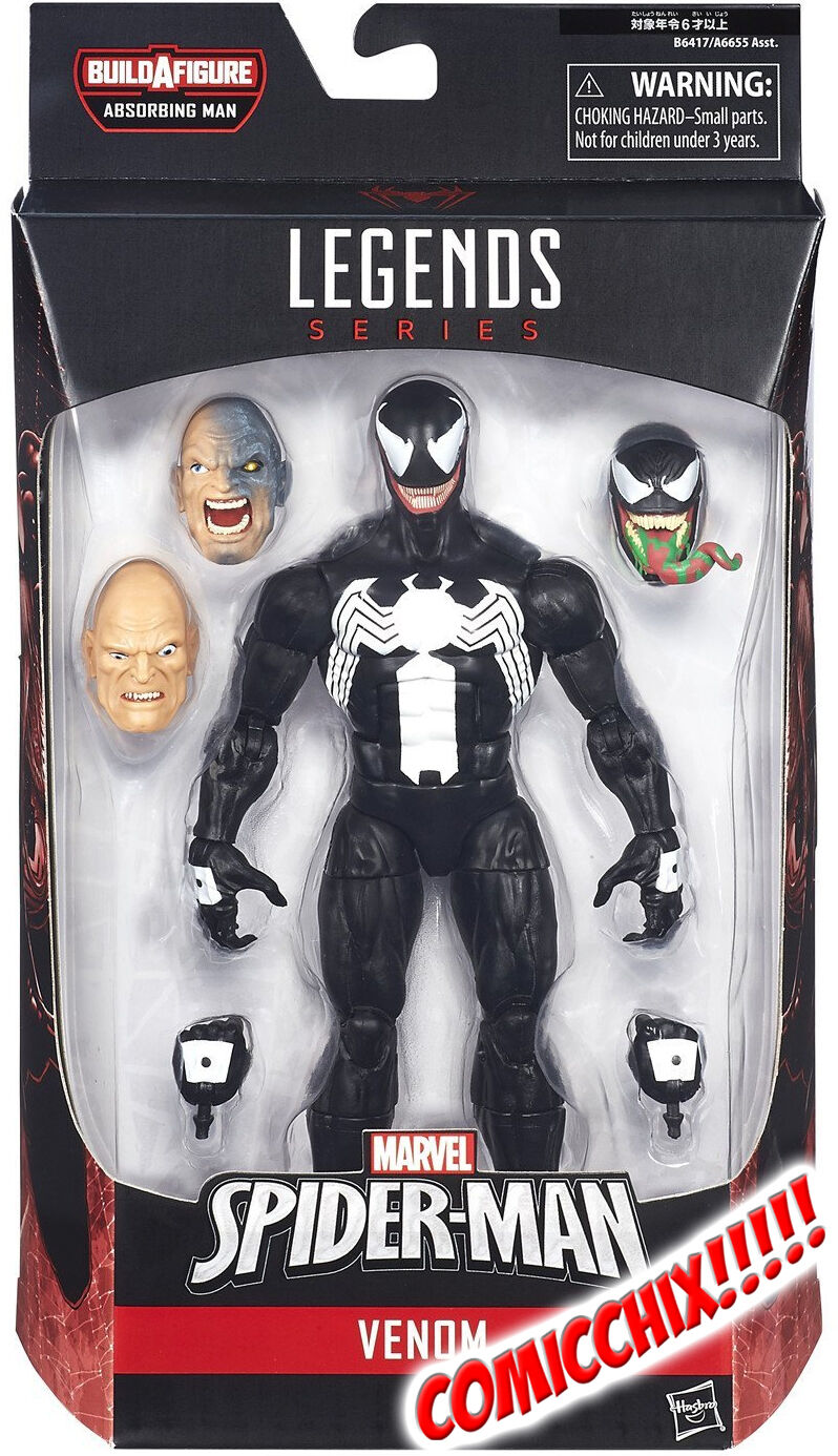 Marvel Legends - VENOM Action Figure - Spider-Man Infinite - HASBRO